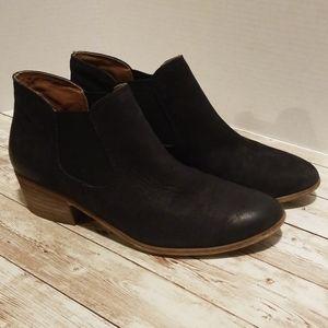 BP Black Slip On Booties Size 8